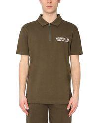 Helmut Lang Other Materials Polo Shirt - Green