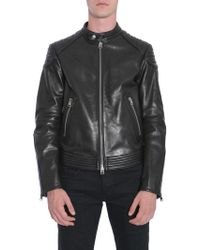 Tom Ford - GIACCA BIKER IN PELLE - Lyst