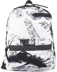 MM6 by Maison Martin Margiela | Graffiti Canvas Backpack | Lyst