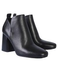 MICHAEL Michael Kors Dixon Leather Boot - Black