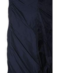 "Tatras ""politeama"" Nylon Down Jacket With Removable Hood - Blue"