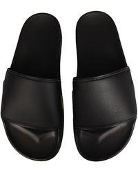Raf Simons Astra Rubber Slide Sandals - Black