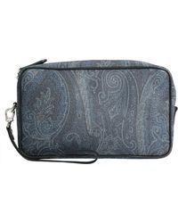 Etro - Paisley Printed Pouch - Lyst