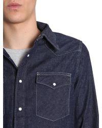 "Visvim ""social Sculpture"" Denim Shirt - Blue"