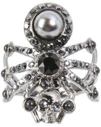 Alexander McQueen - Brass Spider Ring - Lyst