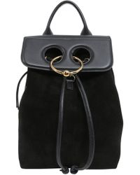 JW Anderson - Mini Pierce Leather Backpack - Lyst