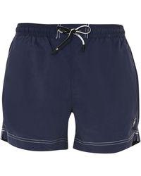 "BOSS Medium ""tuna"" Swimsuit With Patch Logo - Blue"
