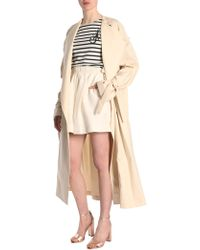 JW Anderson Oversized Cotton Trench - Natural