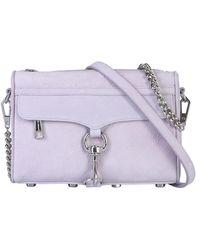Rebecca Minkoff Leather Shoulder Bag - Purple