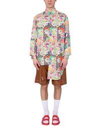 Gcds Asymmetric Shirt I - Multicolour