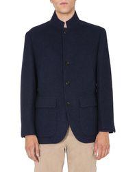 Brunello Cucinelli Single-breasted Jacket - Blue