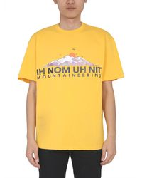 ih nom uh nit Other Materials T-shirt - Yellow