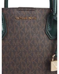Michael Kors Green Leather Handbag