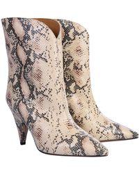 """Étoile Isabel Marant """"leinee"""" Boots - Multicolour"""
