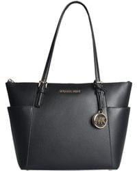 MICHAEL Michael Kors - Jet Set Item Tote Bag In Saffiano Leather - Lyst