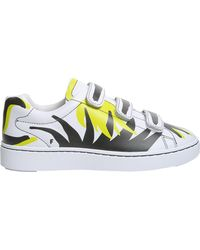 Ash Pharell Flame Leather Trainers - White