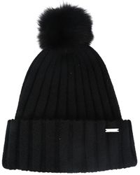 Woolrich Knitted Hat - Black