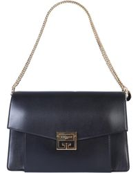 Givenchy Medium Gv3 Leather Bag - Black