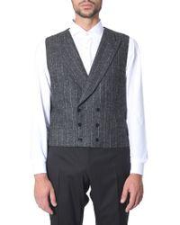 Dolce & Gabbana Double-chest Vest - Multicolour