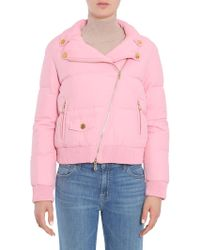 Boutique Moschino Pink Polyester Outerwear Jacket