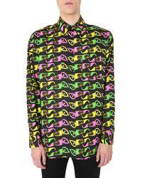 Versace Printed Shirt Multicolour - Green