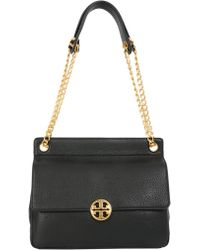 Tory Burch - Chelsea Flap Shoulder Bag In Textured Leather - Lyst