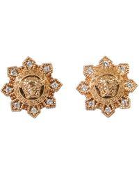 Versace - Logo Earrings - Lyst