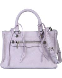Rebecca Minkoff Regan Satchel Bag - Purple