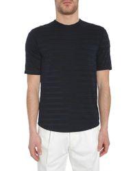 The Gigi Cotton T-shirt - Blue