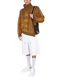 Alexander McQueen - Japanese Gabardine Shorts - Lyst