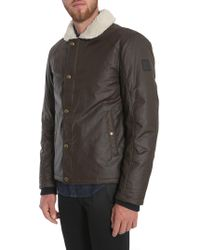 "Belstaff - Giacca ""pentenhall"" In Cotone Spalmato - Lyst"