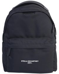 Stella McCartney Falabella Backpack Go With Logo - Black