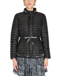 MICHAEL Michael Kors Quilted Nylon Jacket With Logo - Black