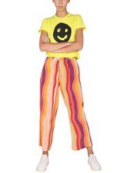 """Être Cécile """"wavy Pajamas"""" Silk Pants - Multicolour"""