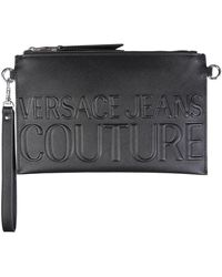 Versace Jeans Couture Versace Jeans Other Materials Pouch - Black