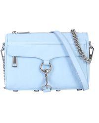 Rebecca Minkoff Mac Mini Leather Bag - Blue