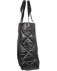 Opening Ceremony Quilted Leather Tote Bag - Black
