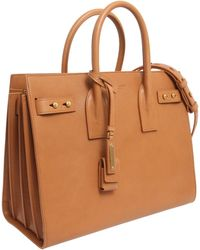 Saint Laurent - Small Sac De Jour Souple Bag In Smooth Leather - Lyst