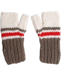 Maison Margiela - Wool Blend Fingerless Gloves - Lyst