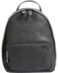 Stella McCartney - Falabella Shaggy Deer Mini Backpack - Lyst
