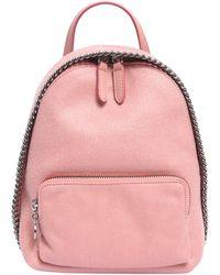 Stella McCartney - Falabella Shaggy Deer Mini Backpack - Lyst