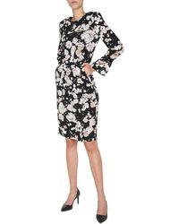Boutique Moschino Midi Dress - Black