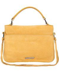 Rebecca Minkoff - Mini Darren Leather Messenger Bag - Lyst