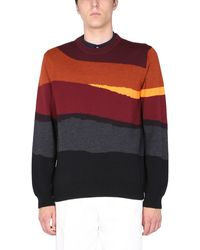 PS by Paul Smith Crew Neck Jumper - Multicolour