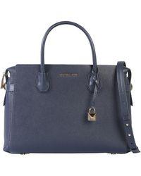 MICHAEL Michael Kors Mercer Leather Bag - Blue