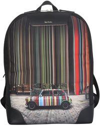 Paul Smith Mini Print Backpack - Multicolour
