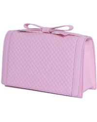 Boutique Moschino Chic Bag With Bow Detail - Pink