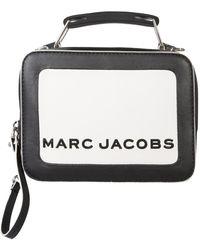 Marc Jacobs THE BOX BAG MINI - Nero