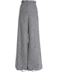 Lanvin Wide Pants - Grey
