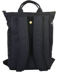Gcds Technical Fabric Backpack With Logo - Black